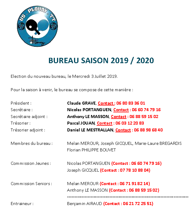 Photo horaires 2019-2020